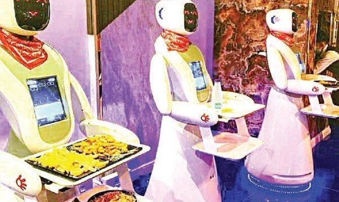 Robots as Waiters